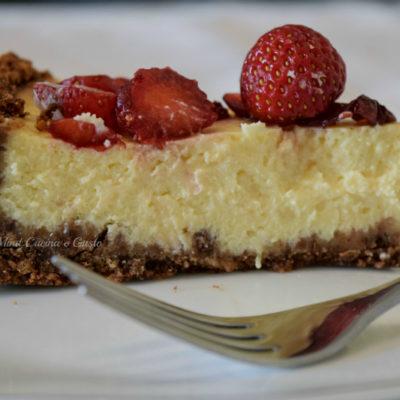Cheesecake con le fragole
