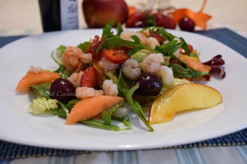 Insalata Taormina mare e frutta