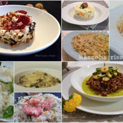 Raccolta ricette riso e risotti