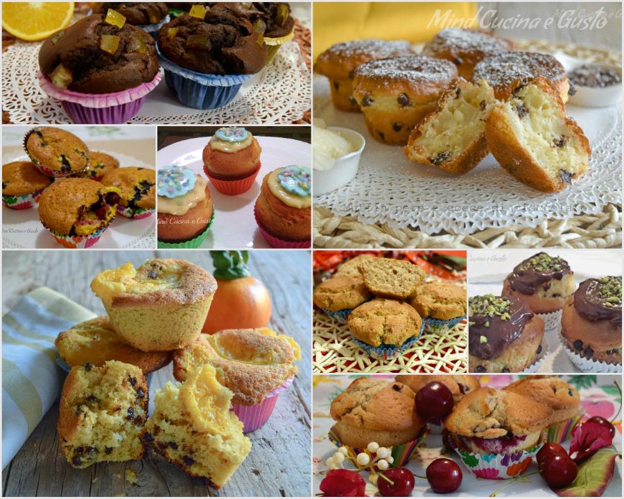 Raccolta muffin e tortine