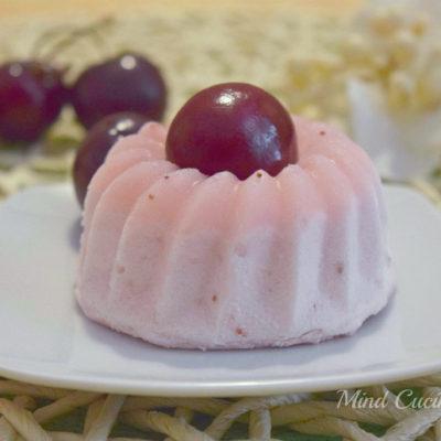 Semifreddo monoporzione alle ciliegie