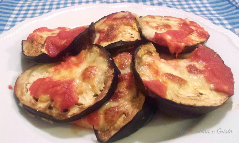 Pizzette di melanzane speedy