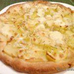 Pizza croccante con patate