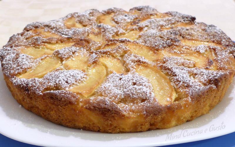 Torta di mele soffice e deliziosa
