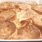 Torta rustica di pane con pomodoro e mozzarella