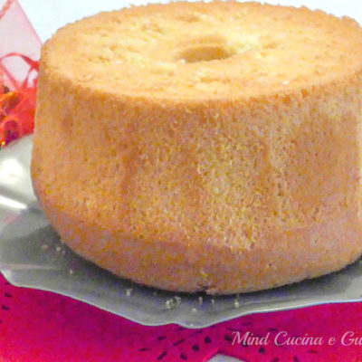 Chiffon cake la torta morbidissima