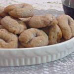 Ciambelline dolci al vino rosso