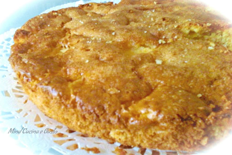 Torta di mele e arancia senza burro