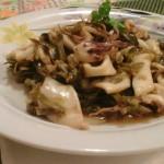 Calamari e carciofi
