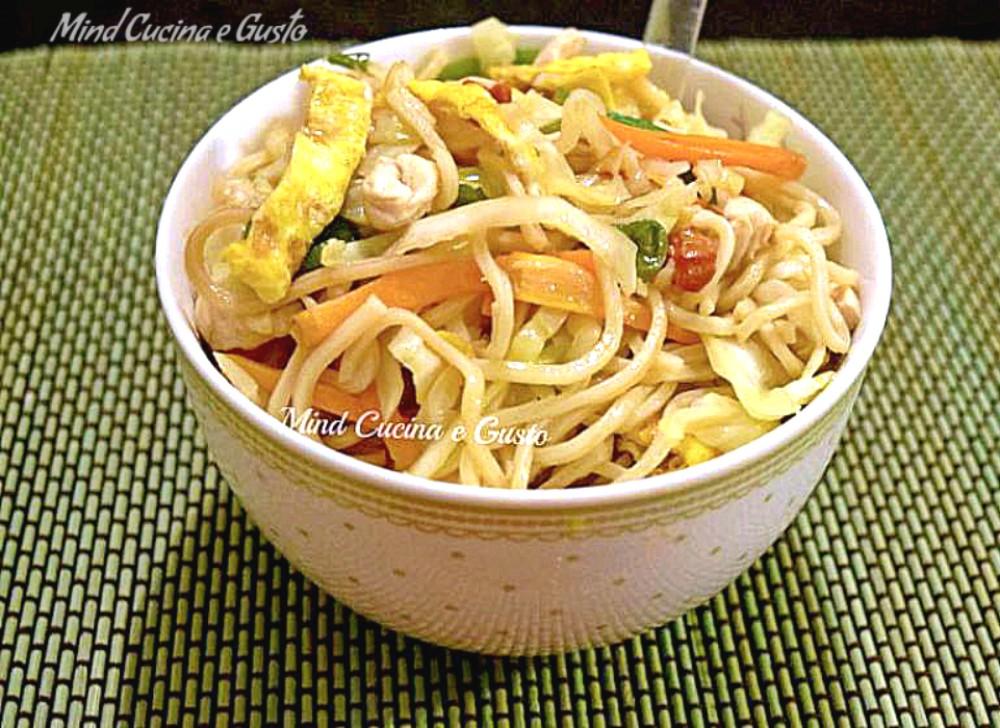 Il Bami goreng – noodles indonesiani