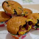 Muffin ai Mirtilli senza burro