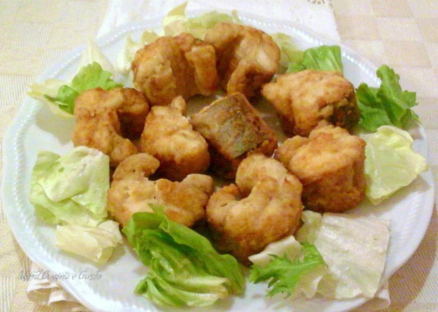 Pesce Palombo fritto