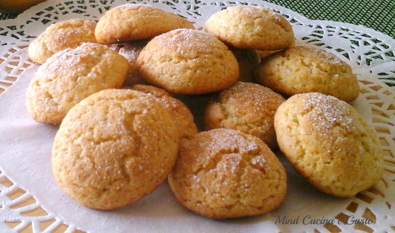Dolci Biscotti morbidi al limone