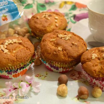 Muffin con nocciole