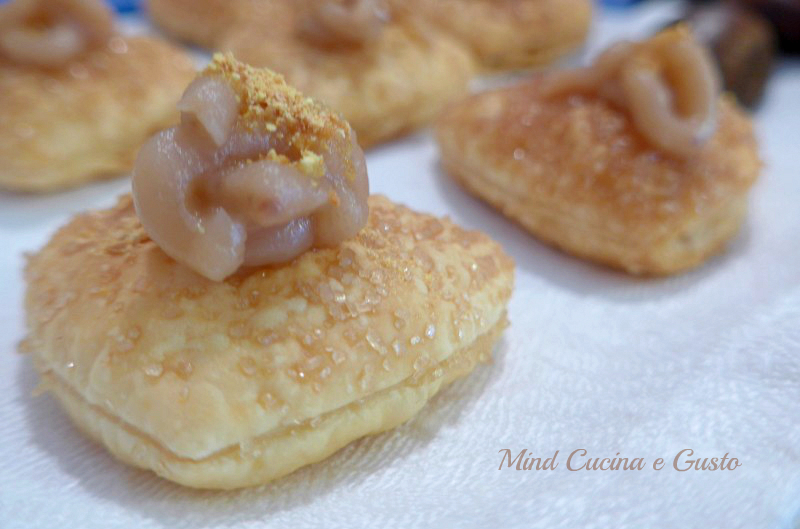 Biscottini alla crema di castagne