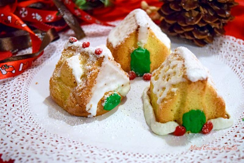 Casette natalizie pan di spagna