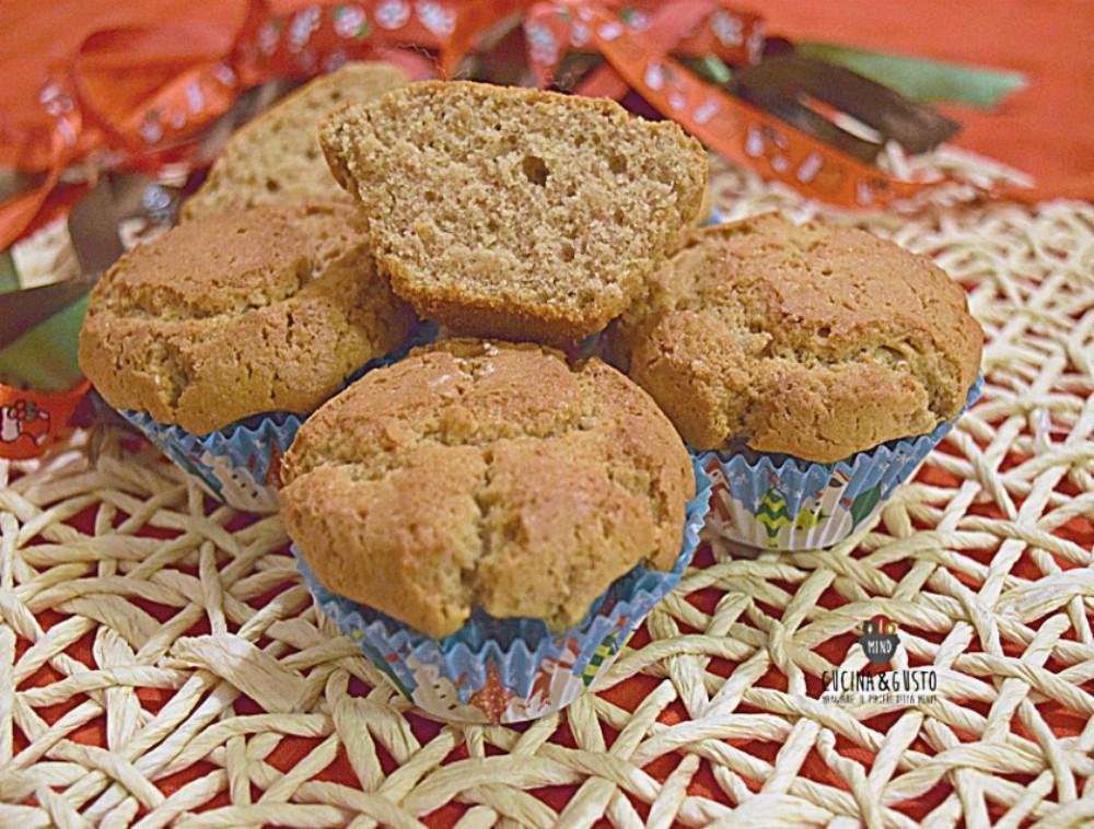 Muffin alle castagne - soffici e deliziosi