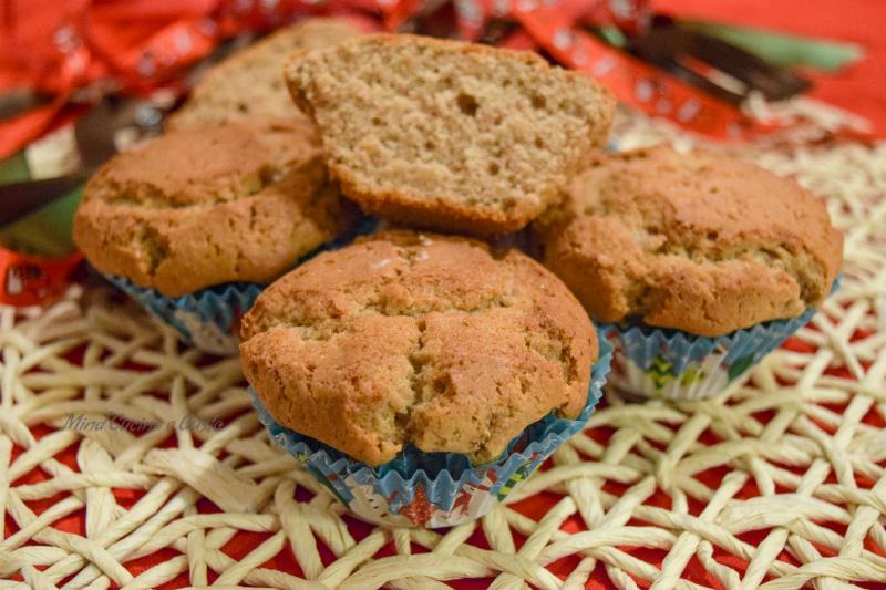 Muffin deliziosi alle castagne