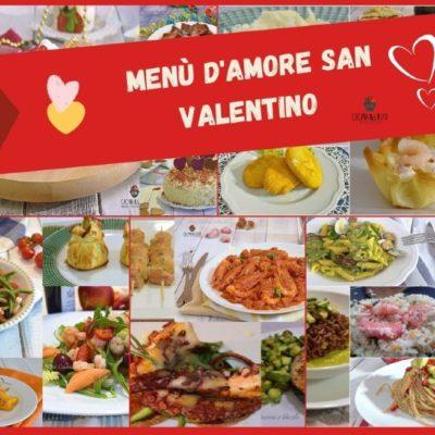 Menù d'amore San Valentino
