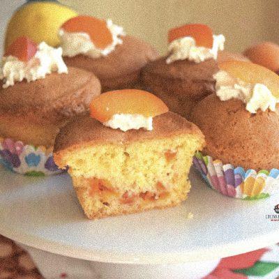 Muffin con albicocche all'olio