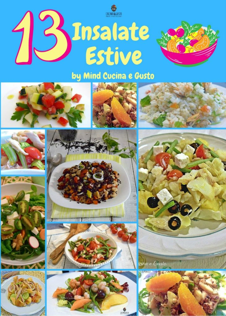 13 insalate estive - ricette facili