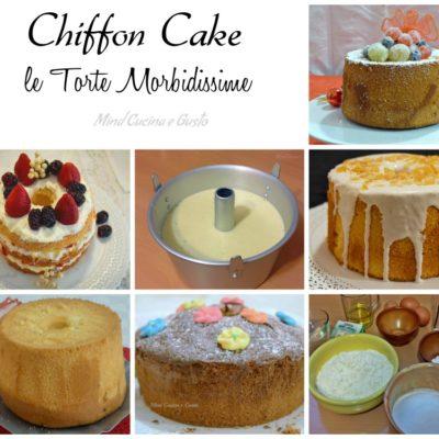 Raccolta Chiffon Cake le torte morbidissime