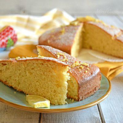 Torta al limone soffice ricetta strepitosa