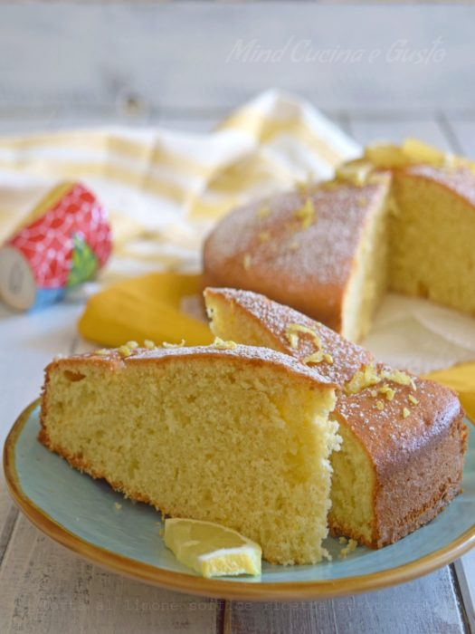 Torta al limone soffice ricetta strepitosa vert