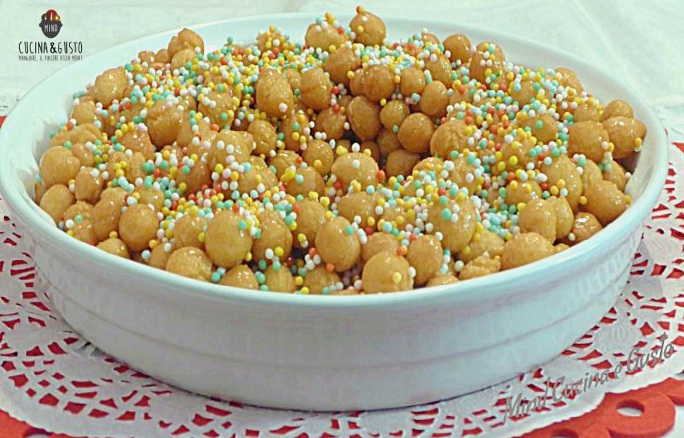 Struffoli – ricetta tradizionale