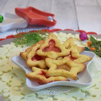 Biscotti di vetro ricetta di Natale