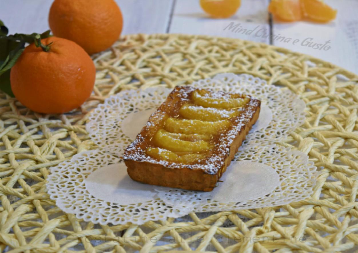 Crostatine alle clementine
