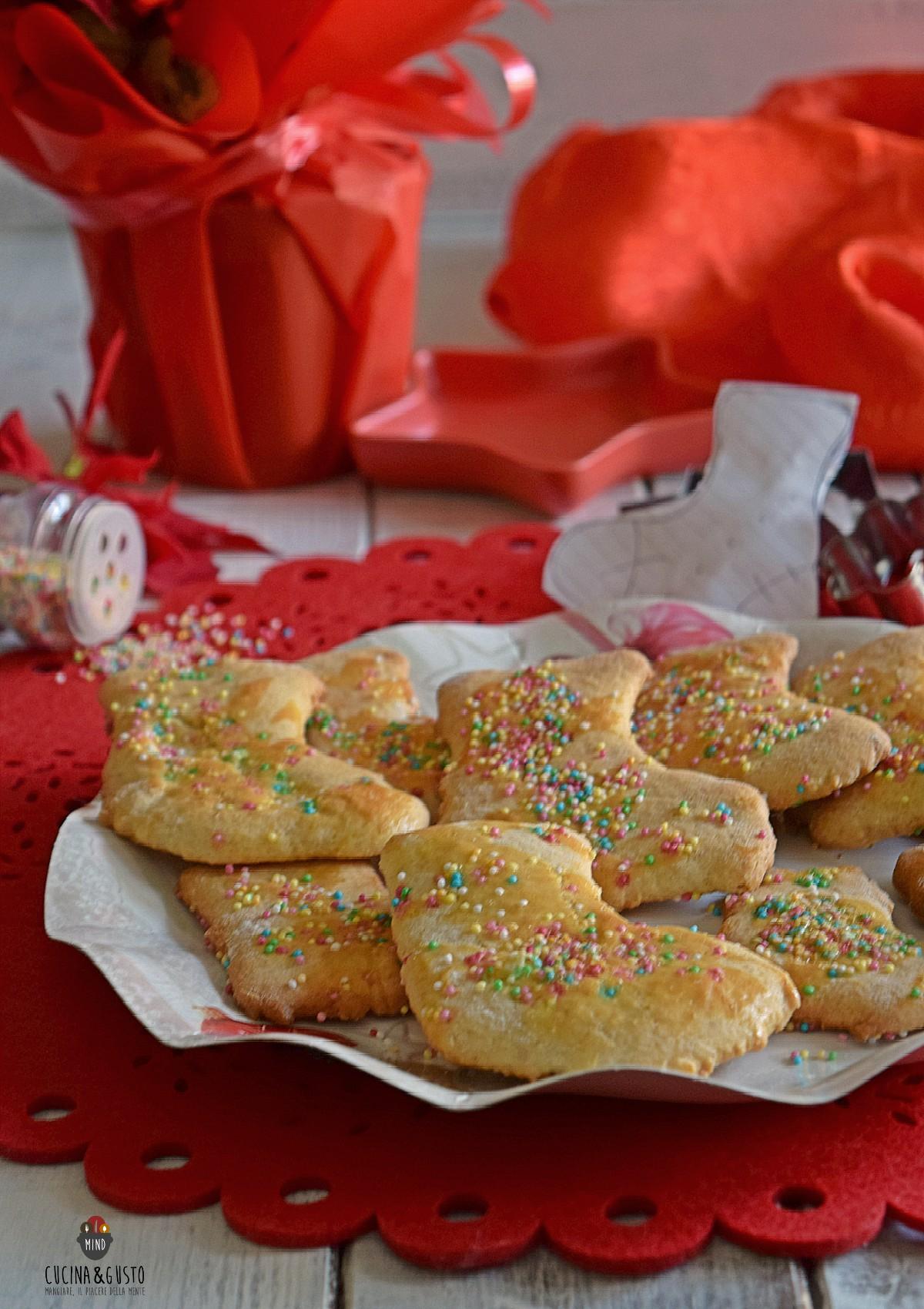 Biscotti tradizionali calza della befana