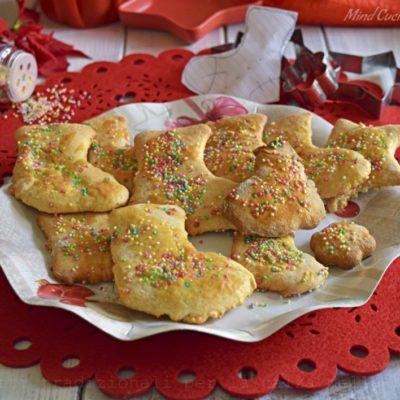 Biscotti tradizionali per la calza della befana