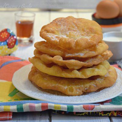 Buñuelos de rodilla - frittelle messicane dolci