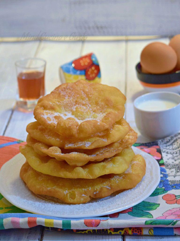 Buñuelos de rodilla – frittelle messicane dolci vert