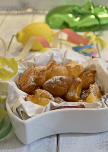 Frittelle dolci di ricotta al Calvados e limone vert