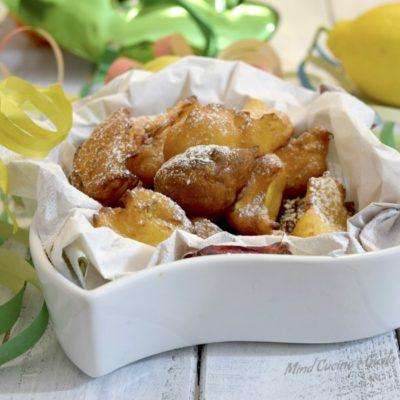 Frittelle dolci di ricotta al Calvados e limone
