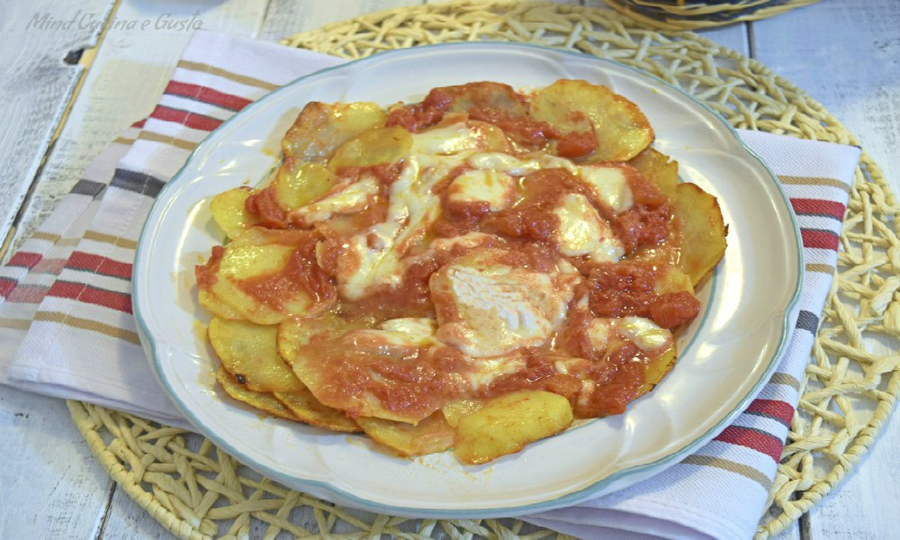Pizza di patate speedy in padella