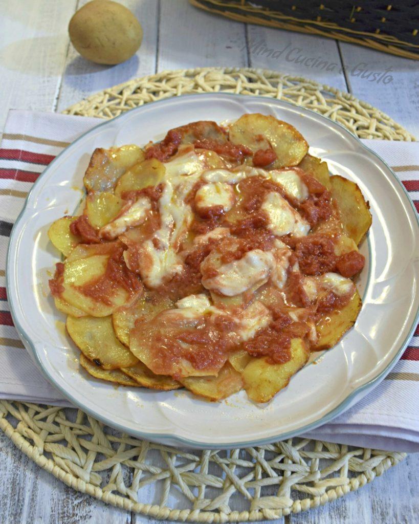 Pizza di patate speedy in padella vert