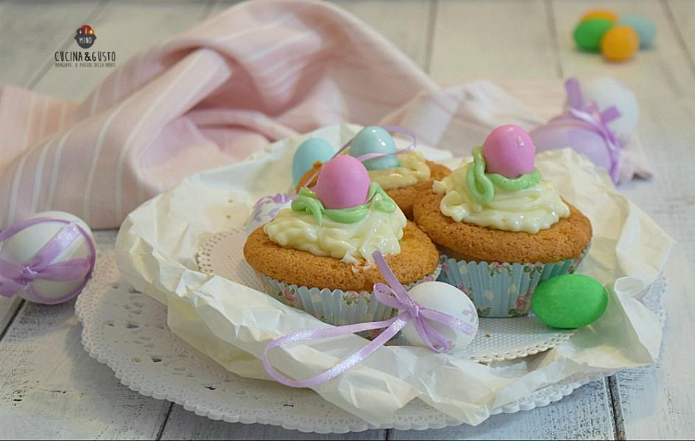 Cupcake di Pasqua dolci divertenti e golosi