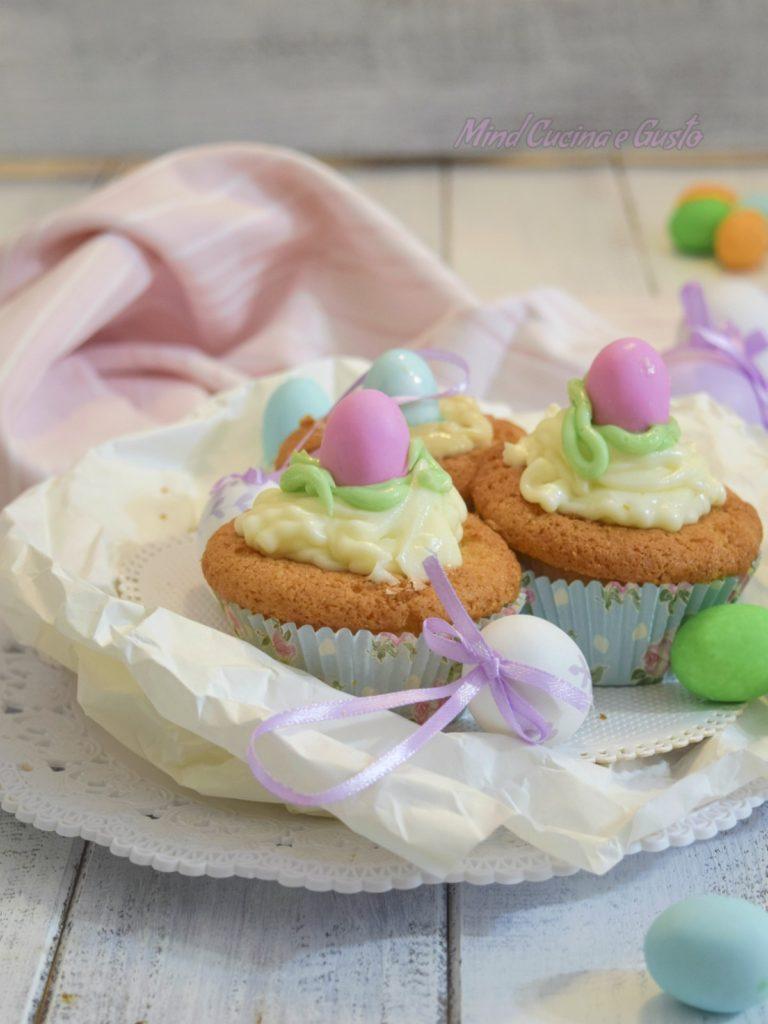 Cupcake di Pasqua dolci golosi e divertenti vert