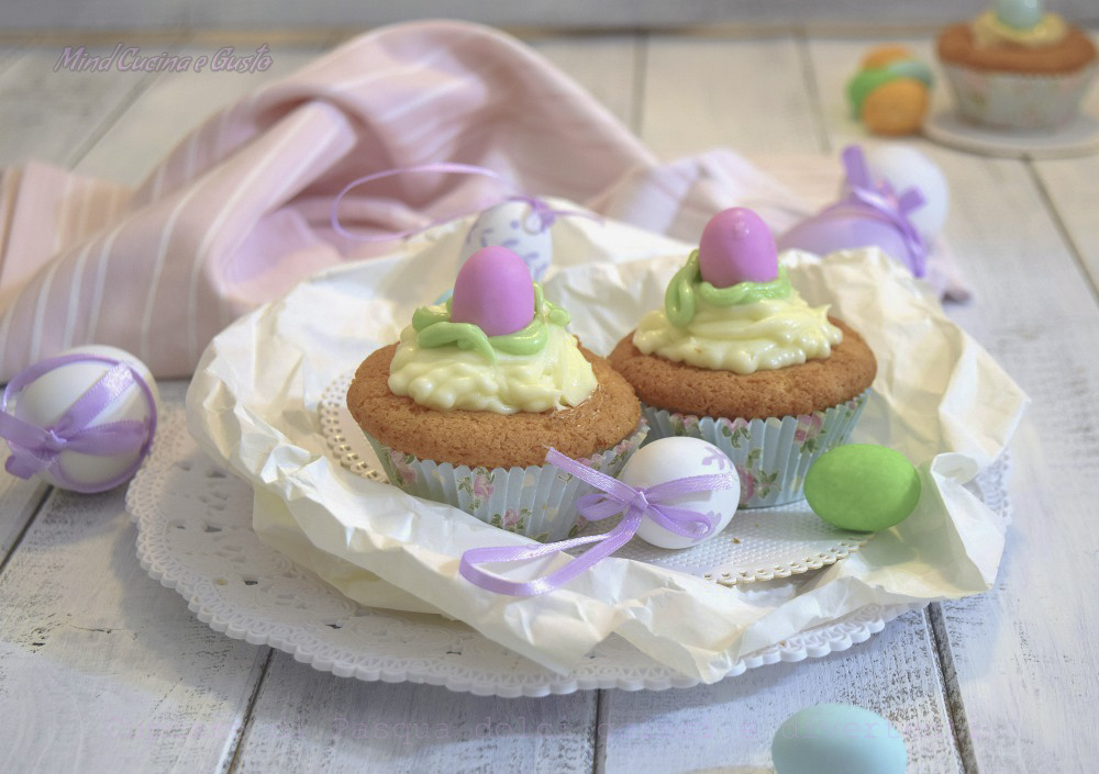 Cupcake di Pasqua dolci golosi e divertenti