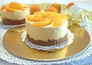Cheesecake monodose alle albicocche 2