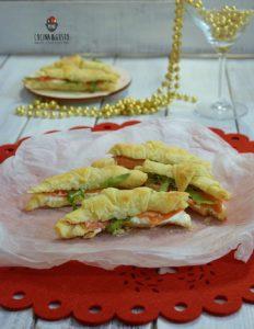 Cornetti salati di sfoglia