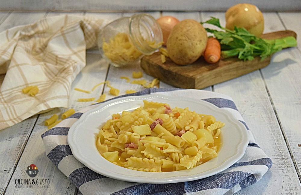 Pasta e patate la ricetta tradizionale