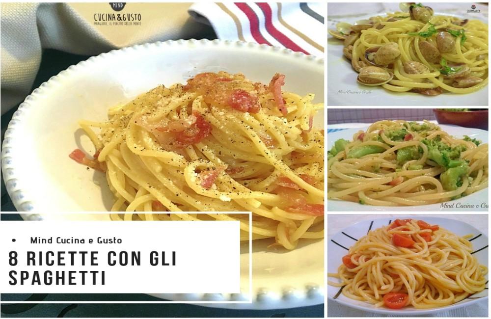 Raccolta di ricette con gli spaghetti