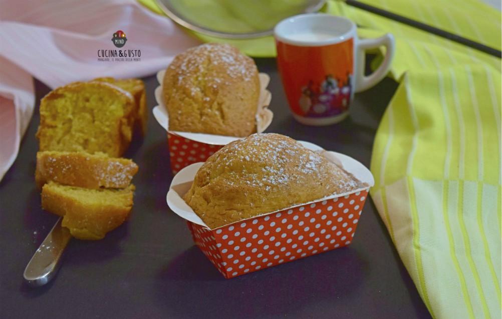 Mini plumcake all'arancia senza burro