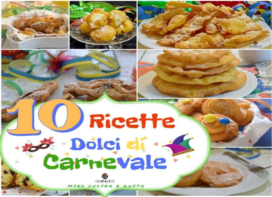 10 ricette dolci di Carnevale – facili e veloci