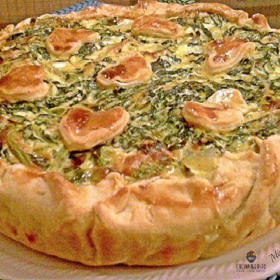 Torta rustica con broccoli ricotta e patate