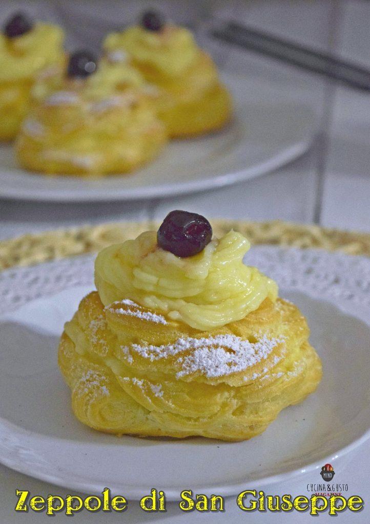 Zeppole di San Giuseppe al forno - ricetta perfetta